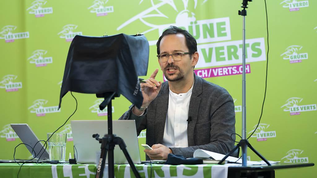 Balthasar Glättli hat an der Delegiertenversammlung der Grünen ein Umdenken gefordert.