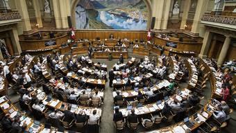 Heute Montag beginnt in Bern die Frühlingssession der eidgenössischen Räte. (Archiv)