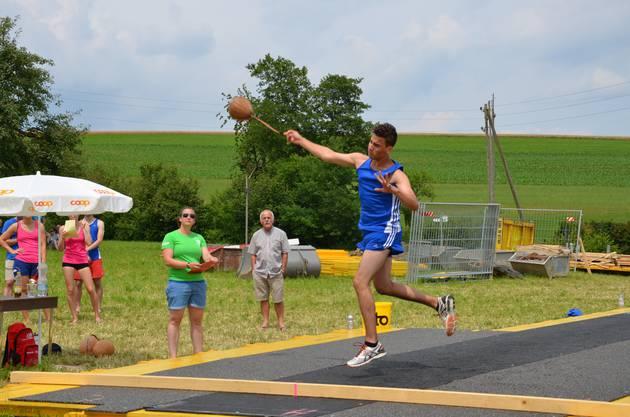 Schleuderball Turnfest Gipf-Oberfrick.