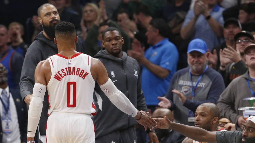 Oklahoma City Thunder erteilen Houston eine Lektion