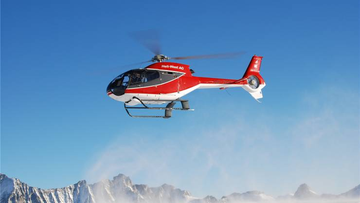 Neu «Operated by Mountain Flyers»: EC 120 der Heli-West AG.