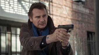 «Sobald mir die Zuschauer die Action-Rollen nicht mehr abkaufen, höre ich auf damit»: Liam Neeson in «A Walk Among The Tombstones». Paterson-Entertainment