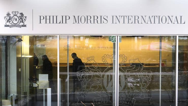 Der Hauptsitz von Philip Morris in Lausanne. Der Konzern möchte sich reorganisieren und zukünftig Zigaretten durch rauchfreie Produkte ersetzen.