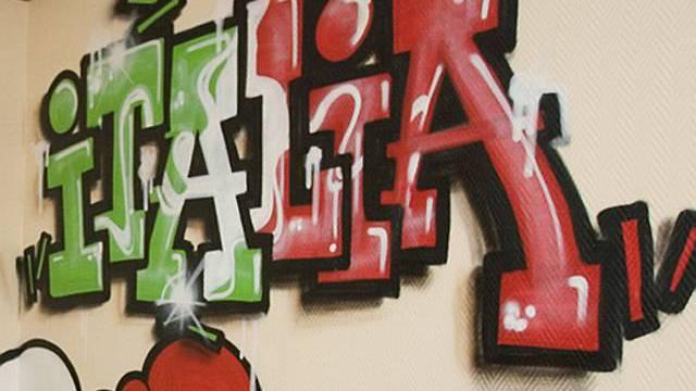 Graffitis in Italien können ab Montag teuer zu stehen kommen (Archiv)