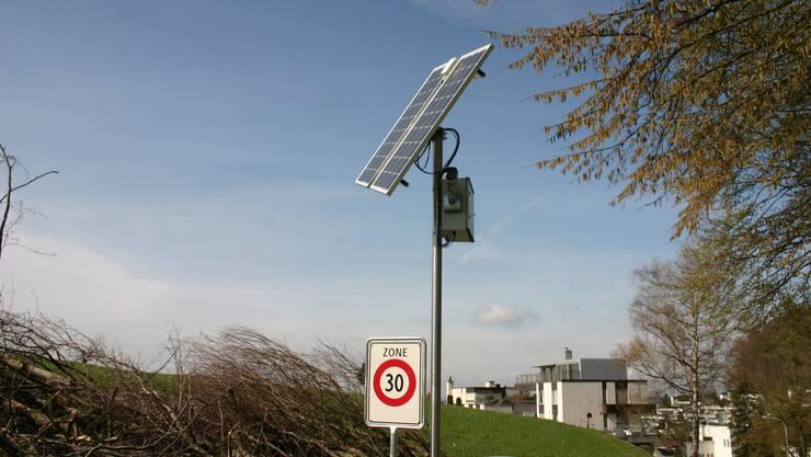 Diese Solarbetriebene Kamera ist seit April 2016 in Betrieb.