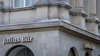 Die Bank Julius Bär erhält einen neuen Vewaltungsratspräsidenten: Filiale in Zürich (Archivbild).