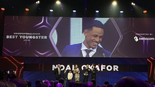 Noah Okafor wurde von der  SFL zum Youngster of the Year gewählt.