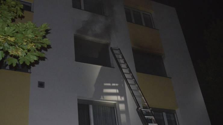Die Bewohnerin der Wohnung starb im Spital. (Archiv)