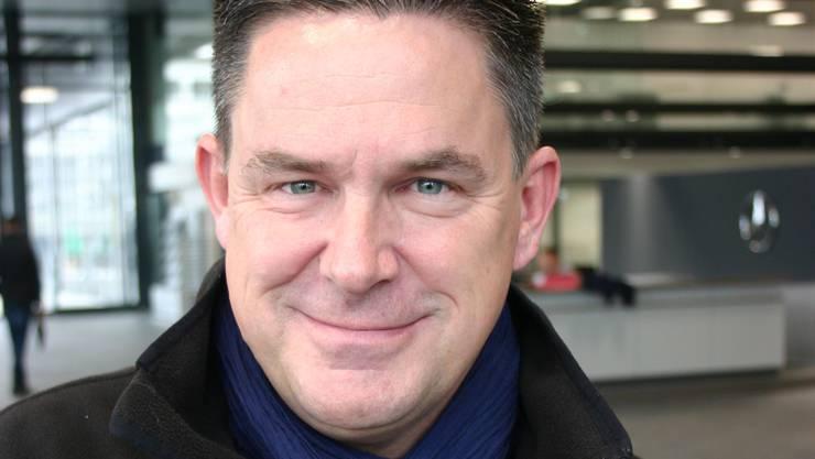 Daniel Bruhin ist Geschäftsleiter des Nutzfahrzeugzentrums der Merbag