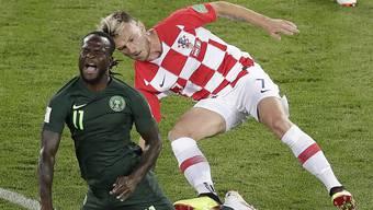 Der Mann aus Möhlin siegte im WM-Auftaktspiel mit 2:0 gegen Nigeria.