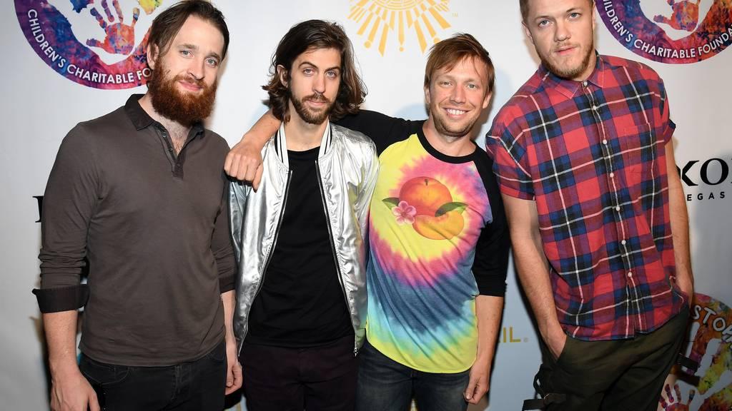 Die US-Band Imagine Dragons möchte ihre Fans mit «Believer» überzeugen.