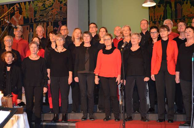"""No one but you"", die Vindonissa Singers stellen die Gäste in den Mittelpunkt."
