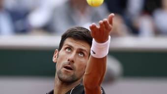 Bereit für die Rasensaison: Novak Djokovic scheint seine Enttäuschung nach dem Viertelfinal-Out am French Open gegen den italienischen Überraschungsmann Marco Cecchinato überwunden zu haben