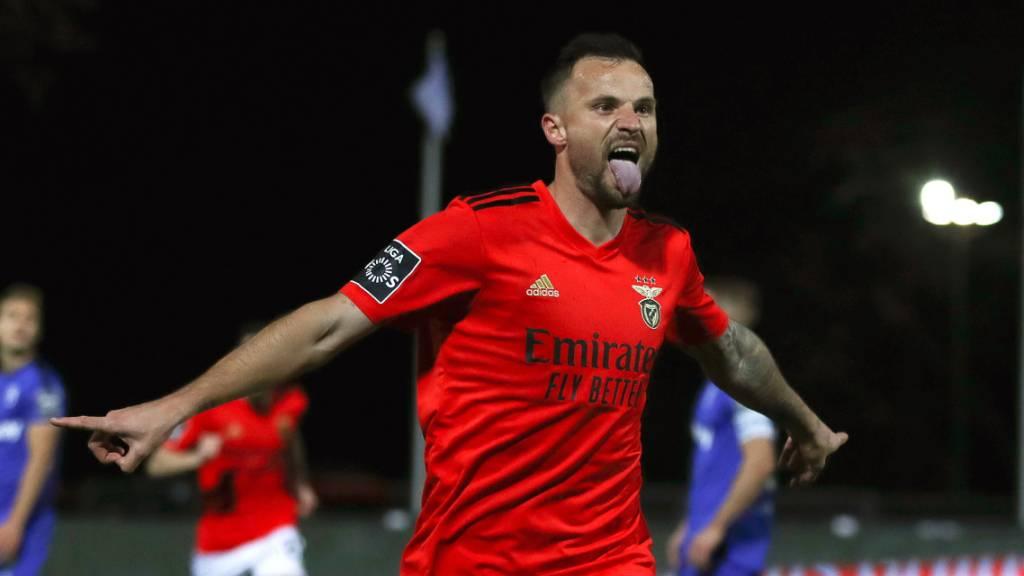 Haris Seferovic Doppeltorschütze für Benfica