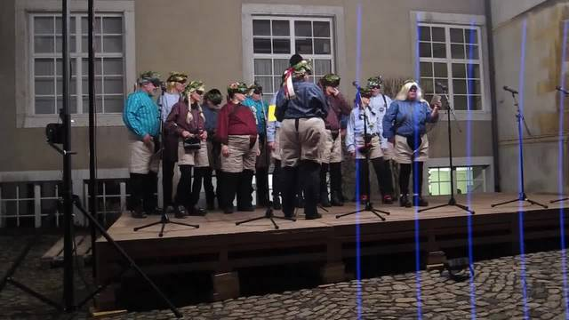 Voceria singen am Höflisingen 2017 über Donald Trump