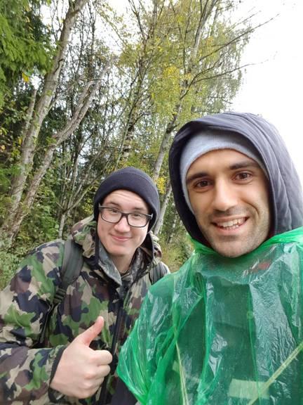 Vor dem Regen haben sie unter Brücken Schutz gesucht. (Bild: zVg)