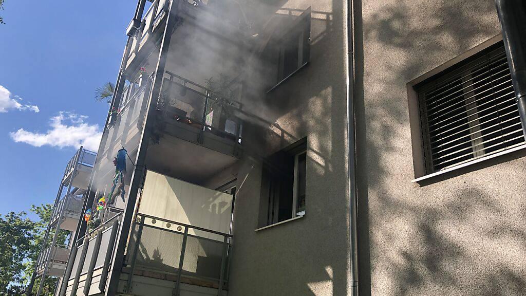 Brand in Wohnung: Mehrere 10'000 Franken Sachschaden