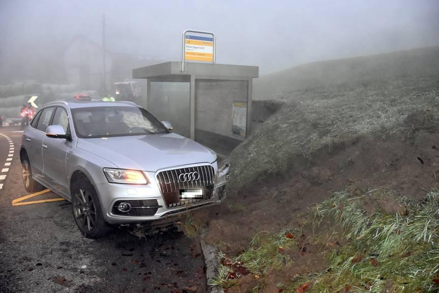 Beide Autolenker erlitten lediglich Prellungen. (Bild: Kantonspolizei St.Gallen)