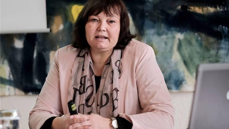 Barbara Schunk verlässt das Spital Dornach. (Archiv)
