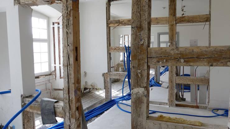 Es wird massiv um- und ausgebaut im Singisenflügel: Im nächsten Jahr werden das Museum Caspar Wolf und das Singisenforum eröffnet.