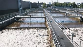 Der neue Energieverbund Altstetten und Höngg nutzt unter anderem das Abwasser des Klärwerks Werdhölzli als Energiequelle. (Archivbild)