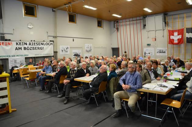 Ein Blick auf die gut besuchte 12. Mitgliederversammlung.