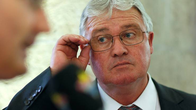 Markus Zemp musste die erste Wahlniederlage erklären – und konnte sich vorstellen, schon nächsten Frühling als CVP-Präsident abzutreten.Key