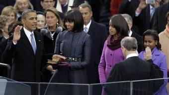 US-Präsident Obama wird vereidigt