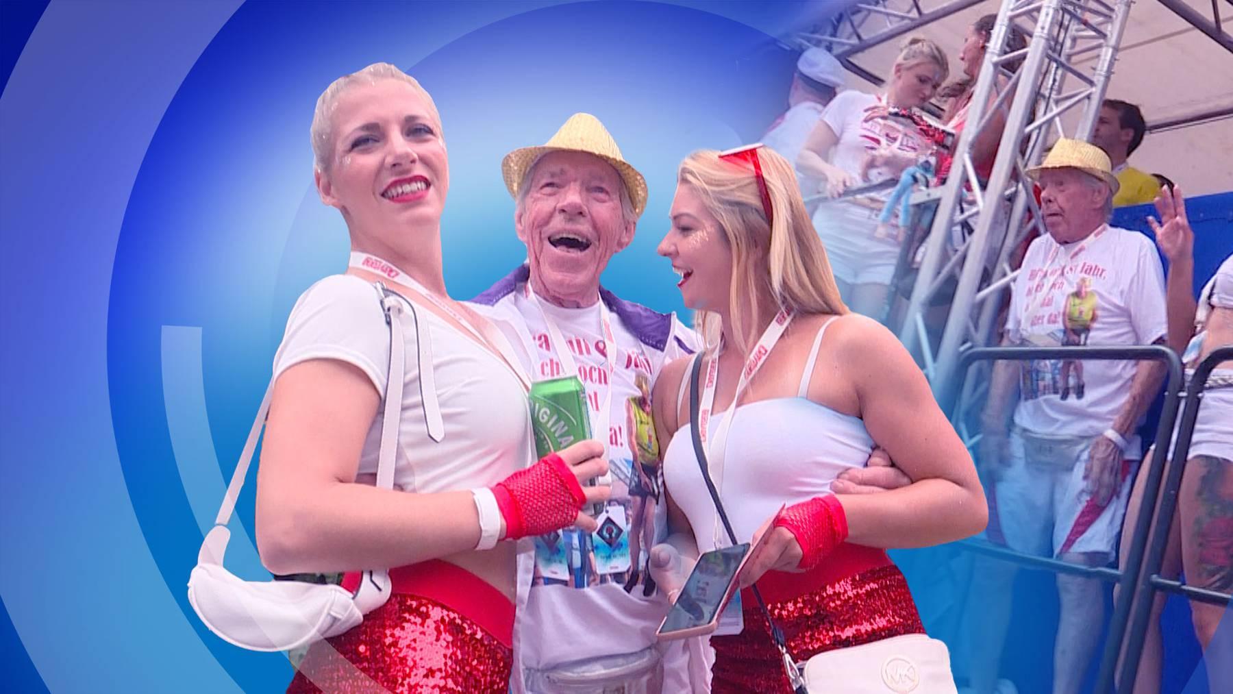 Techno-Opa Ein 81-jähriger Aargauer tanzt an der Street-Parade wie ein Teenie