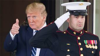 Der amerikanische Präsident Donald Trump: Behält er im Konflikt mit Iran einen kühlen Kopf? Keystone