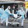 Corona-Notfall in der französischen Stadt Mulhouse: Im Elsass spitzt sich die Situation zu.