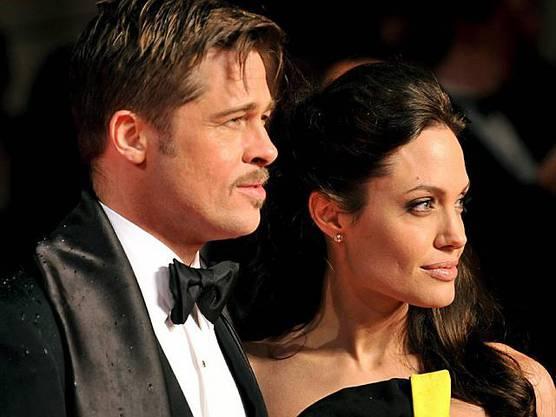 Brad Pitt mit Angelina Jolie (Archiv)