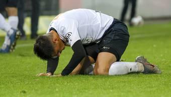 Der FC Aarau kann am Freitagabend nicht gegen GC antreten.