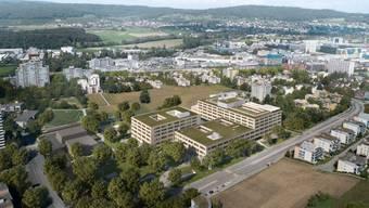 Geplanter Neubau Pflegezentrum Spital Limmattal