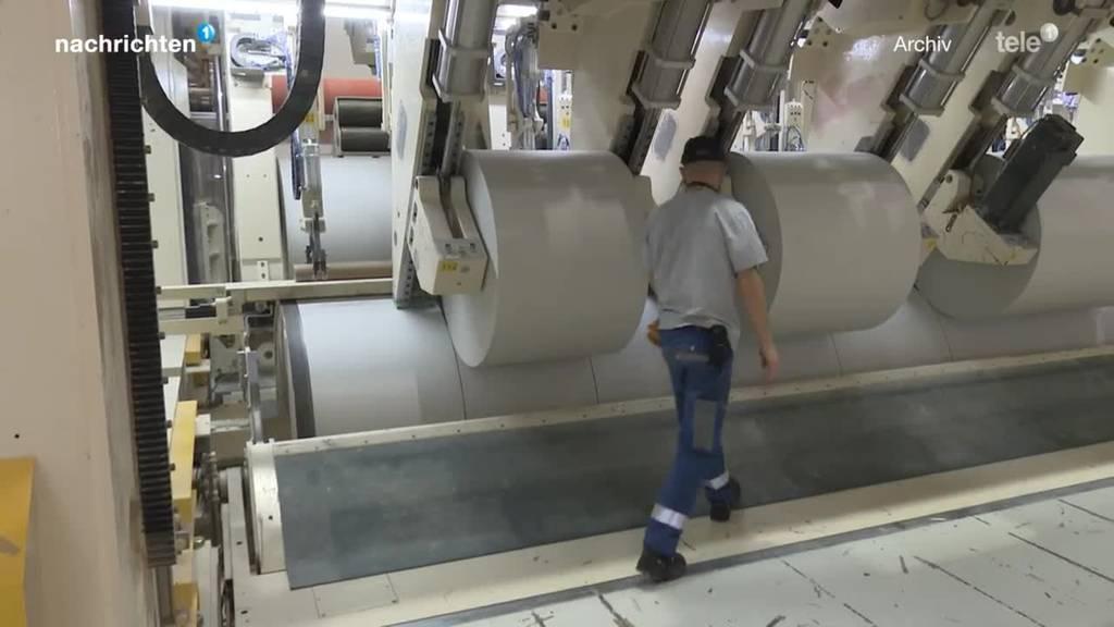 Wegen Brand in Papierfabrik: Mangel an Zeitungspapier