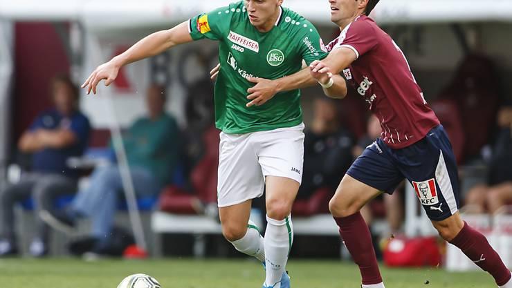 Ermedin Demirovic war mit zwei Toren der Matchwinner für St. Gallen beim 2:1 in Genf