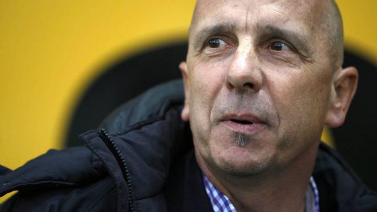 Strasser im Jahr 2010 als FCA-Cheftrainer