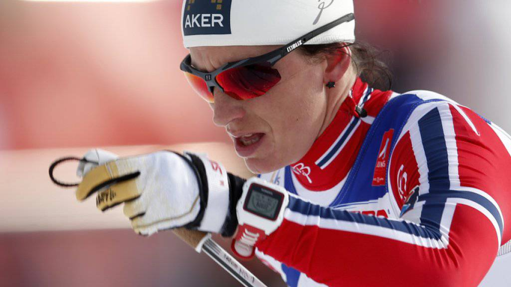 Marit Björgen feierte in Kuusamo den ersten Weltcup-Sieg nach ihrer Babypause