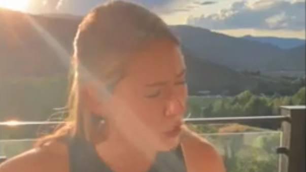 Skistar Mikaela Shiffrin macht einen auf Halsey