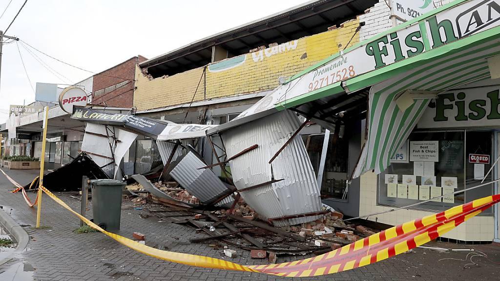 Sturm sorgt für Verwüstung im Westen Australiens