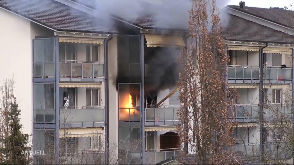 Feueralarm in Stein: Von der Feuerwehrübung zum Ernstfall