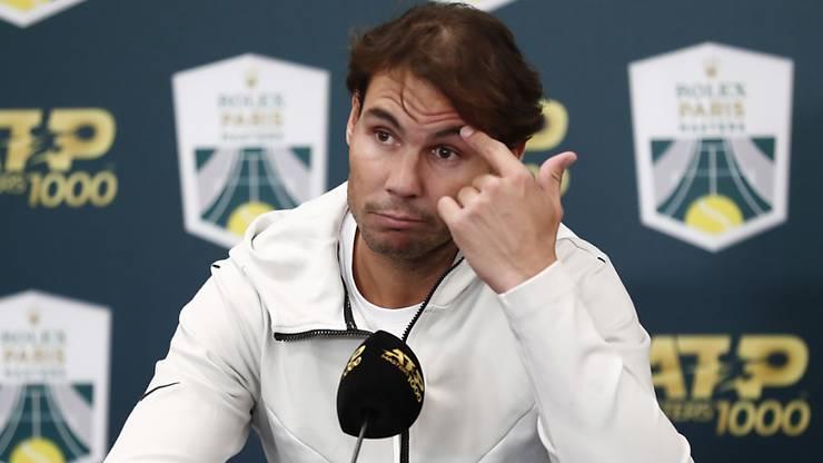 Als Nummer 1 an die ATP Finals: Rafael Nadal gibt sich trotz Bauchmuskelzerrung kämpferisch