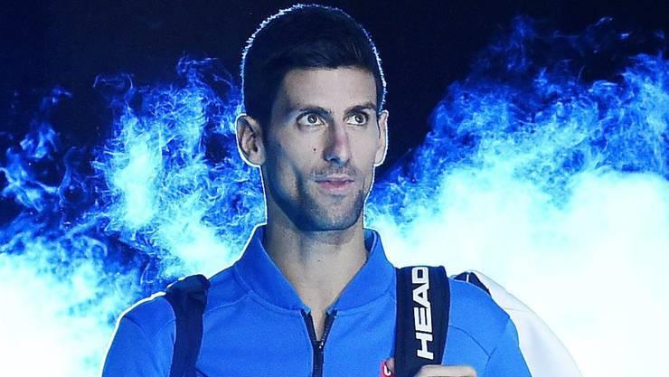 War eine Klasse für sich: Novak Djokovic