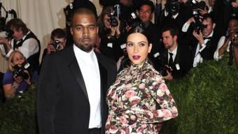 Kanye West und Kim Kardashian bekommen ein Mädchen (Archiv)