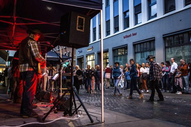 Musig i de Altstadt: Impression vom Freitagabend.