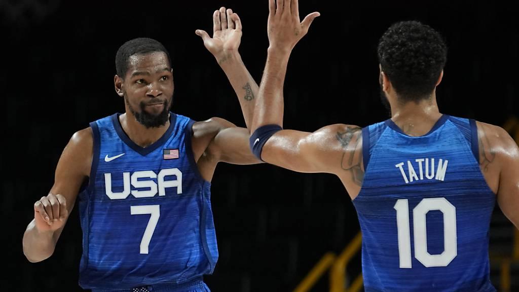 US-Basketballer wieder auf Kurs