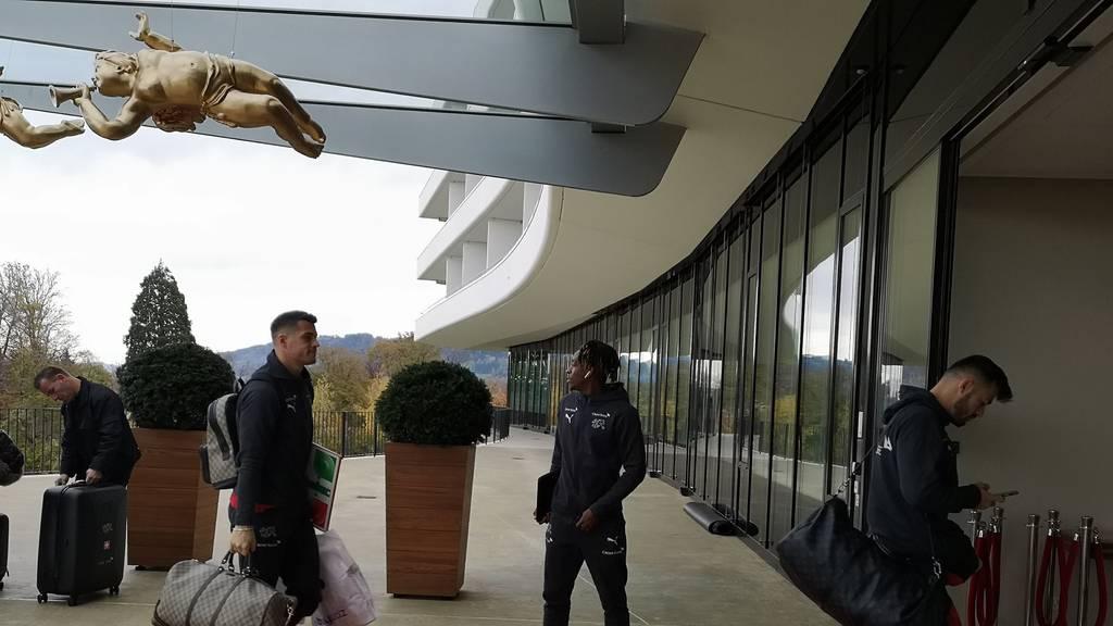 Nati hat in St.Gallen «eingecheckt»