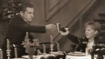 Die «Dinner for One»-Version mit Angela Merkel und Nicolas Sarkozy wird zum Youtube-Hit