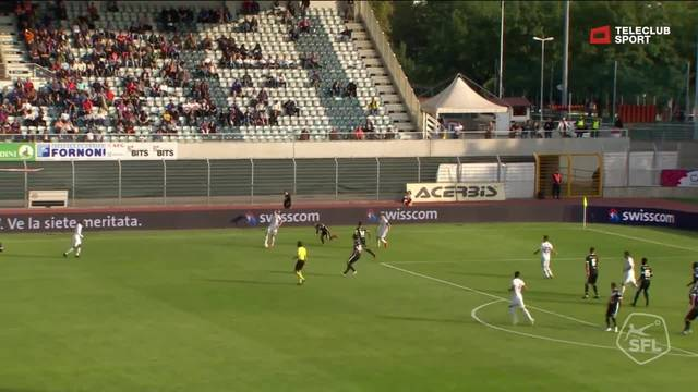 Kurz nach der Pause macht es Ajeti besser und trifft nach schöner Vorarbeit gekonnt zum 2:0.