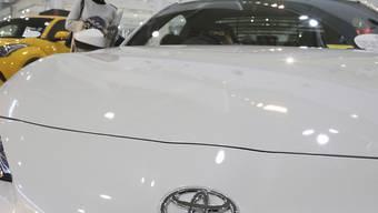 Der japanische Autobauer Toyota will zusammen mit Mazda im US-Bundesstaat Alabama ein neues Werk bauen. (Archivbild)
